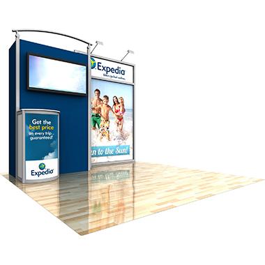 ECO-1004 10′ × 10′ Sustainable Display
