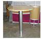 ECO-17C Sustainable Counter w/ Bamboo Top