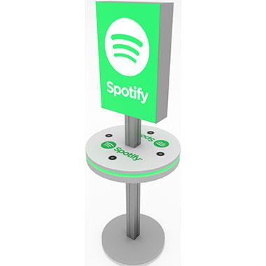 InCharg™ Light Box Charging Stand