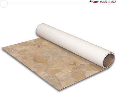 Comfort Flex™ · Natural Stones Collection • 10′ × 20′ Vinyl Flooring
