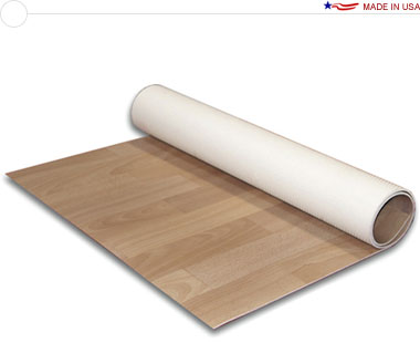 Comfort Flex™ 10′ × 10′ Vinyl Flooring · Wood & Texture Selections