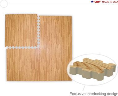 Comfort Tile™ Designer Plus Interlocking Floor Tiles