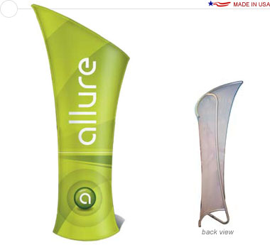 Allure™ Slope Right Banner Stand