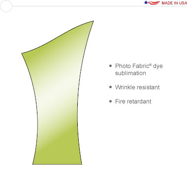 Allure™ Slope Left Replacement Graphic