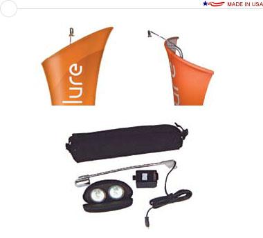 Allure™ 50 Watt Halogen Light w/ Spare Bulb