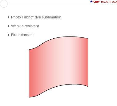 Entasi™ Graphic for a 10′ × 8′ Wave Frame - Crest Left