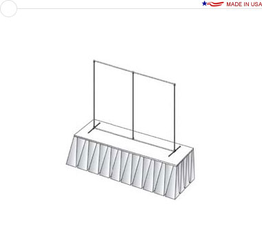6′ × 4′ Flat Tabletop Frame