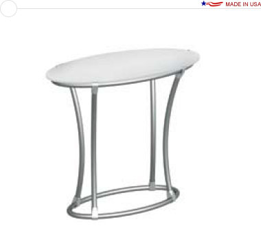 40″ High Oval Podium / Table