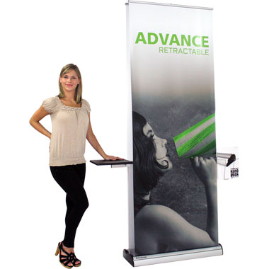 Advance™ Retractable Banner Stand • Kit 1