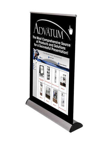 Barracuda™ • Tabletop Retractable Banner Stand