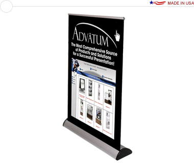 Barracuda™ Tabletop Banner Stand