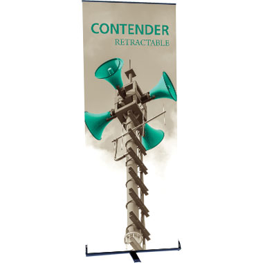 Contender™ Standard Retractable Banner Stand