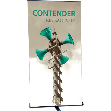 Contender™ Monster Retractable Banner Stand