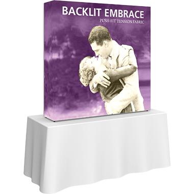 Embrace™ • 2×2 Backlit Pop Up Display