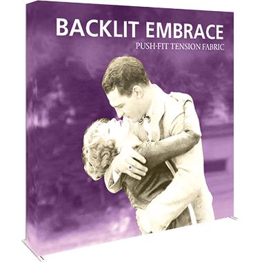 Embrace™ • 3×3 Backlit Pop Up Display