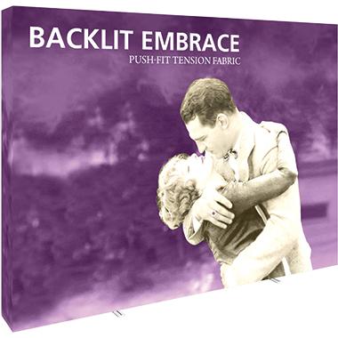 Embrace™ • 4×3 Backlit Pop Up Display