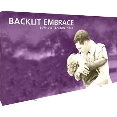 Embrace™ • 5×3 Backlit Pop Up Display