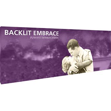 Embrace™ • 8×3 Backlit Pop Up Display