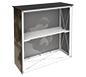 Embrace™ Trade Show Counter · Angled View of Internal Shelf