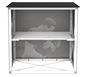 Embrace™ Trade Show Counter · View of Internal Shelf