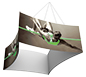 Formulate™ Hanging Banner Sign • Concave Four-Sided
