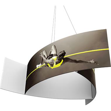 Formulate™ Hanging Banner Sign • Pinwheel