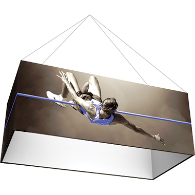 Formulate™ Hanging Banner Sign • Rectangle