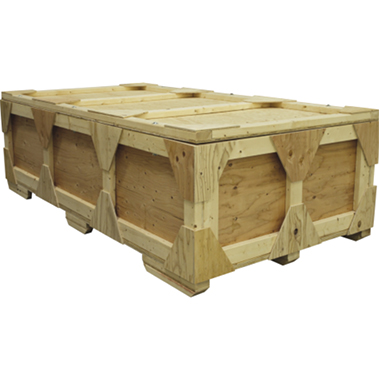 HALF-WOODCRATE Wooden Shipping Crate