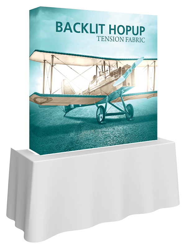 Tension Fabric Tabletop Displays