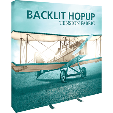 Hop Up™ 3×3 Backlit Pop Up Display