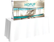 Hop Up™ • 2×1 Straight Tabletop Display