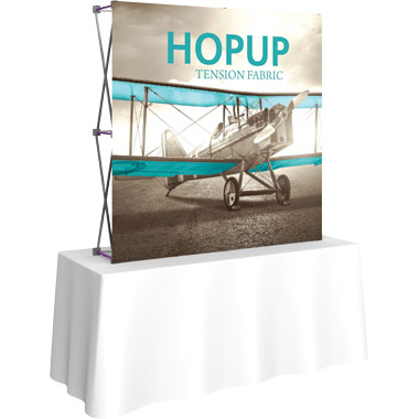Hop Up™ · 2×2 Straight Tabletop Display
