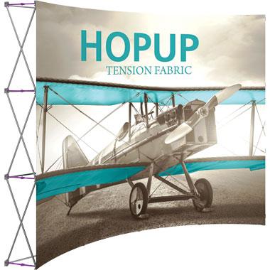 Hop Up™ · 4×3 Curved Pop Up Display