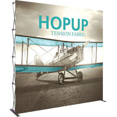 Hop Up™ · 4×4 Straight Pop Up Display