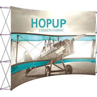 Hop Up™ · 5×3 Curved Pop Up Display