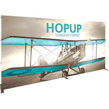 Hop Up™ · 6×3 Straight Pop Up Display