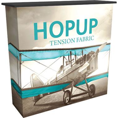 Hop Up™ Pop Up Trade Show Counter