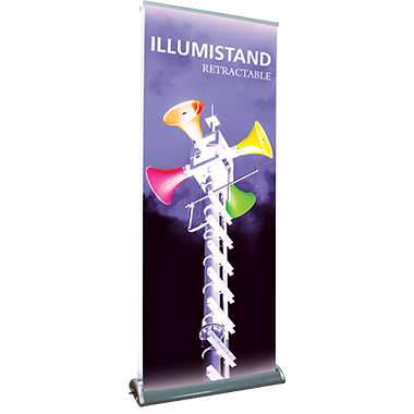 Illumistand™ Backlit Retractable Banner Stand