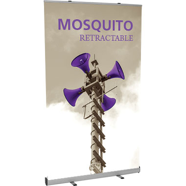 Mosquito™ 1200 Retractable Banner Stand