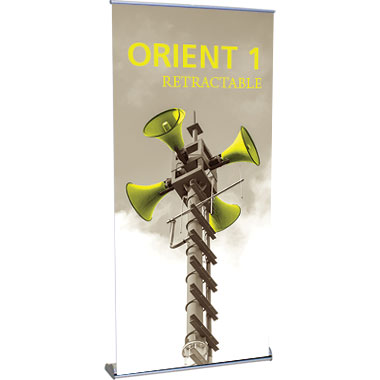 Orient™ 1000 Retractable Banner Stand