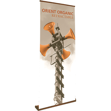 Orient™ Organic 850 Retractable Banner Stand