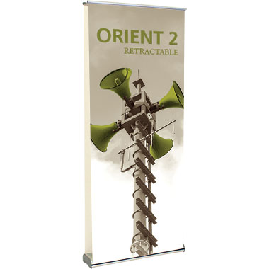 Orient™ 920 Double Retractable Banner Stand