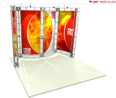 Pavo 10′ × 10′ Trade Show Booth
