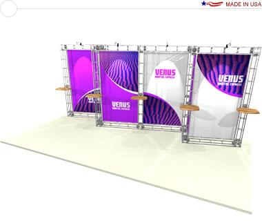 Venus 10′ × 20′ Trade Show Booth