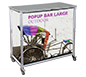 Popup Bar™ Large · Left Angle View