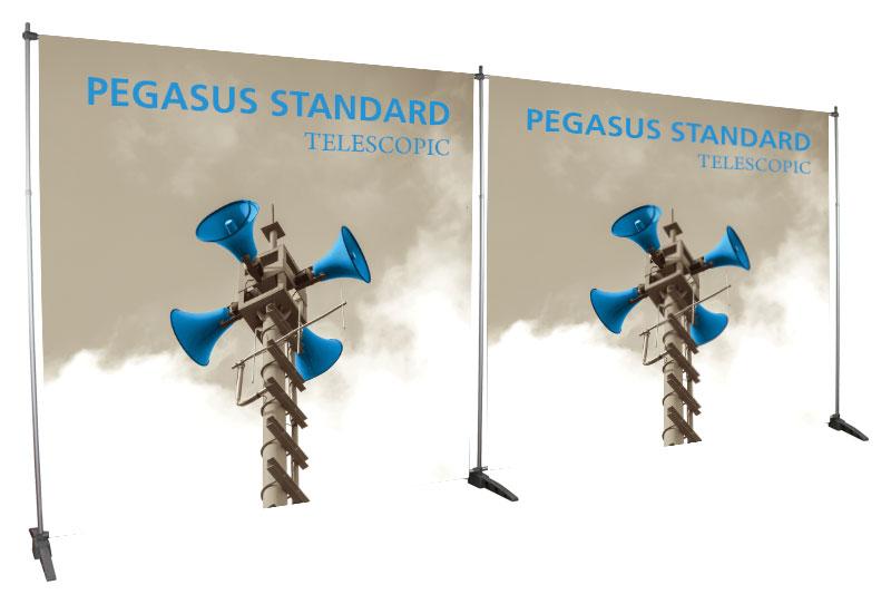 Telescopic Banner Stands