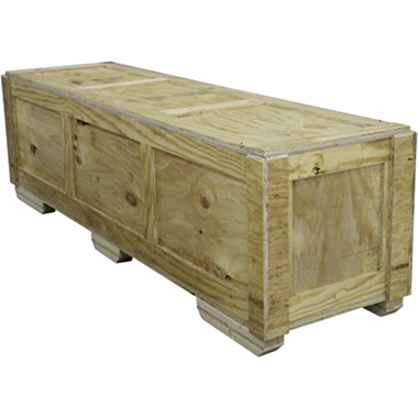 QUARTER-WOODCRATE Wooden Shipping Crate