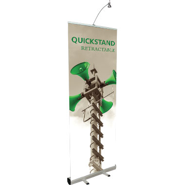 Quickstand™ Retractable Banner Stand