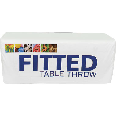 Fitted Table Throws