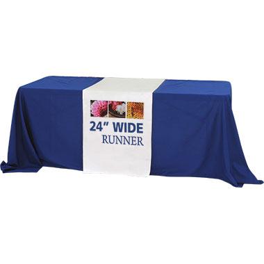 Premium Dye-Sub Table Runner · 24″-Wide